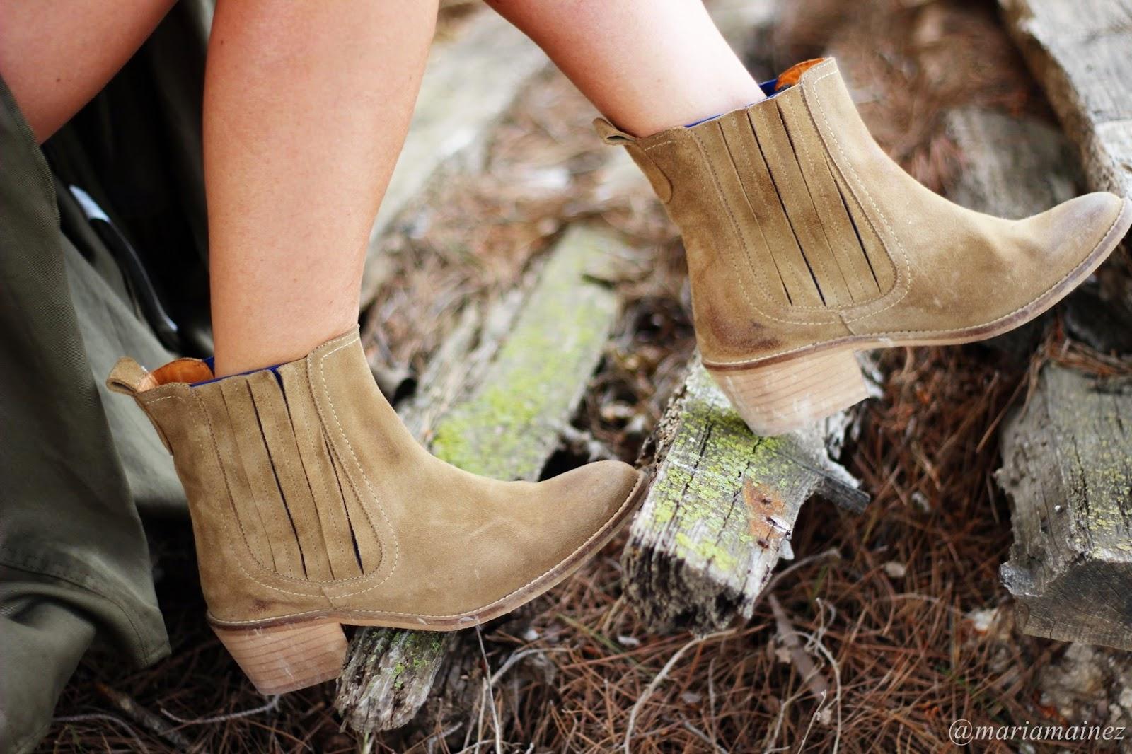Botines de verano - Tabatha shoes - Streetstyle - botines camperos