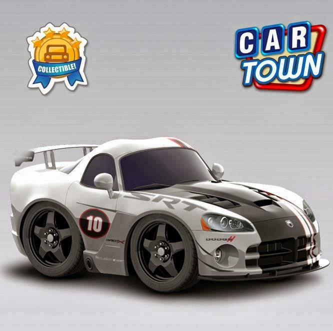 Cartown Blog Brasil: O Dodge Viper ACR-X está de volta!