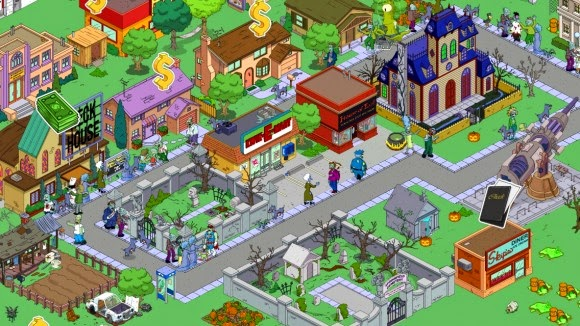 لعبة The Simpsons Tapped Out