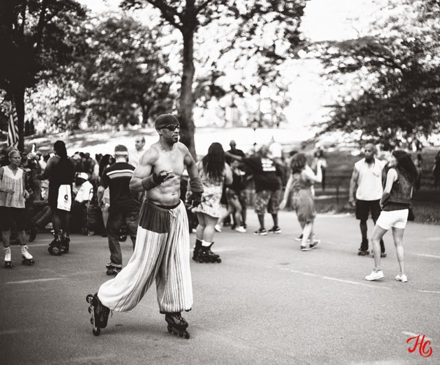 NYC, Central Park Dance Skaters, Haley Carpenter Photography