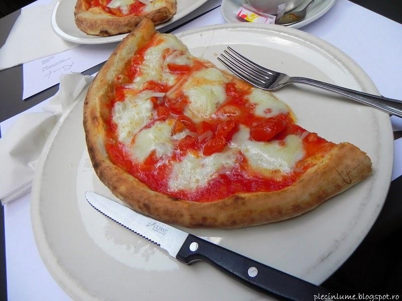 O pizza excelenta la Roma