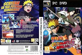 Naruto Shippuden Ultimate Ninja 5, game pc, game ps 2, emulator ps 2