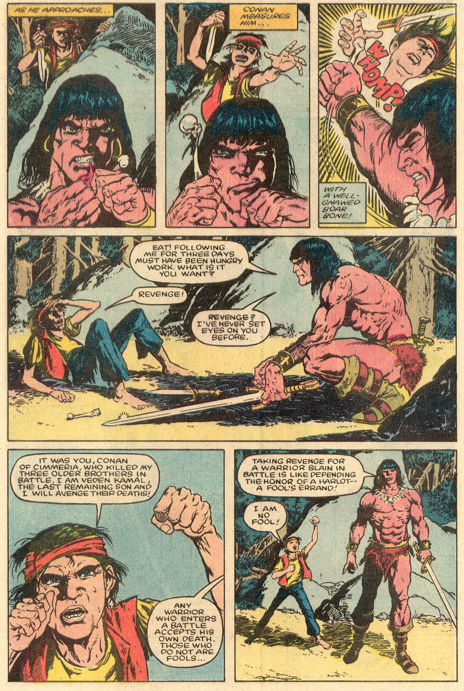 Conan the Barbarian (1970) Issue #164 #176 - English 3