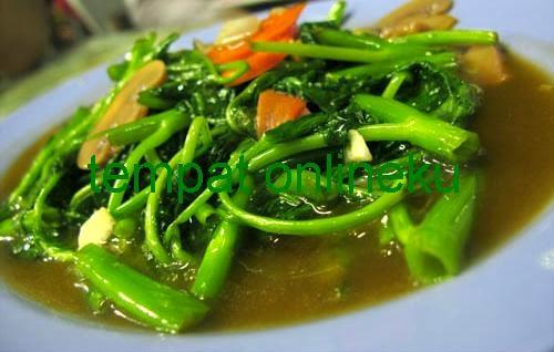 resep cah kangkung taoco