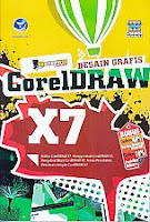 toko buku rahma: buku DESAIN GRAFIS CORELDRAW X7, pengarang wahana komputer, penerbit andi