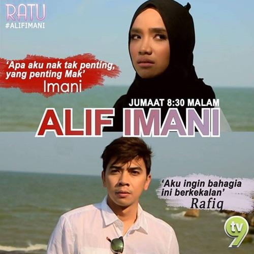 Sinopsis Drama Alif Imani TV9 Slot Ratu, pelakon dan gambar drama Alif Imani TV9, Alif Imani episod akhir – episod 14