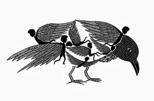 Grimm, Wolf, Wolves, Fairy tale, Baśń, Czerwony Kapturek, Baśnie o wilkach, Baśnie na warsztacie, Mateusz Świstak, kruku, ravens, siedem kruków