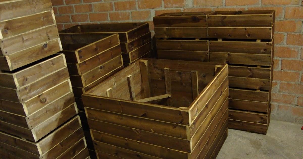 Jardineras de madera maceteros y jardineras a medida for Jardineras de hormigon baratas