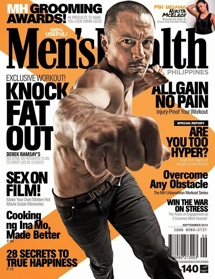 Derek Ramsay - Men's Health PH Sept. 2014