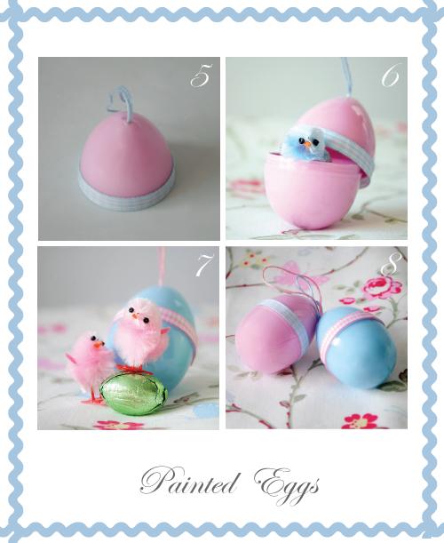 Hand painted surprise eggs by Torie Jayne