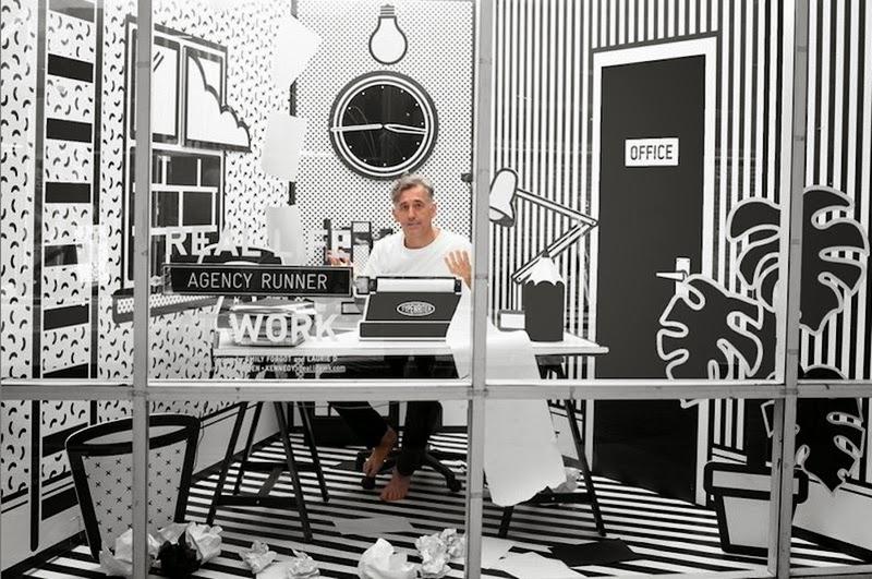 Las inusuales oficinas de cartón de Wieden + Kennedy
