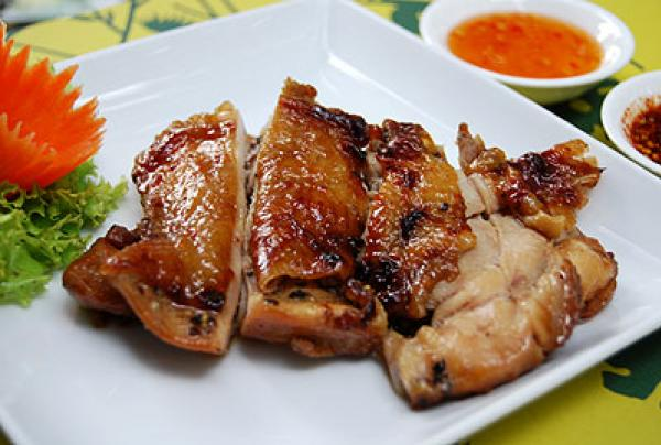 ... good chicken marinade for grilling Thai-style grilled chicken