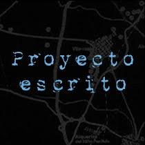 Proyecto escrito