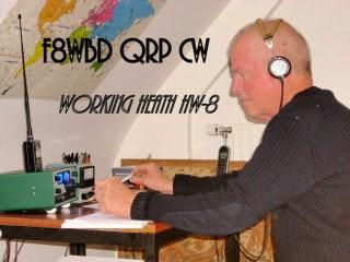F8WBD 100% CW QRP