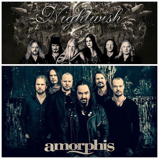 Amorphis + Nightwish en concert au Zénith de Toulouse