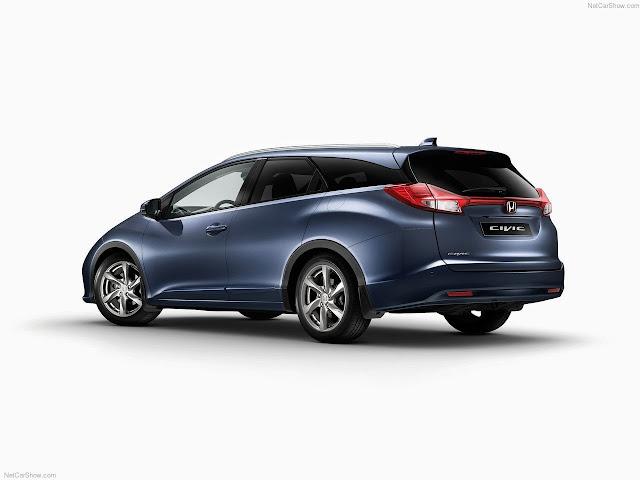 Honda Civic Tourer (2014). Equipado con llantas Cobalt ' - 17.