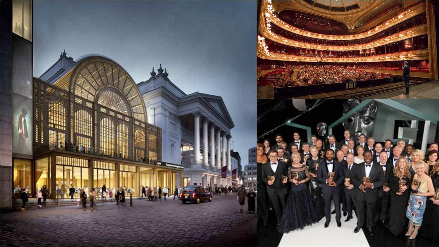 BAFTA 2014 at Royal Opera House , London