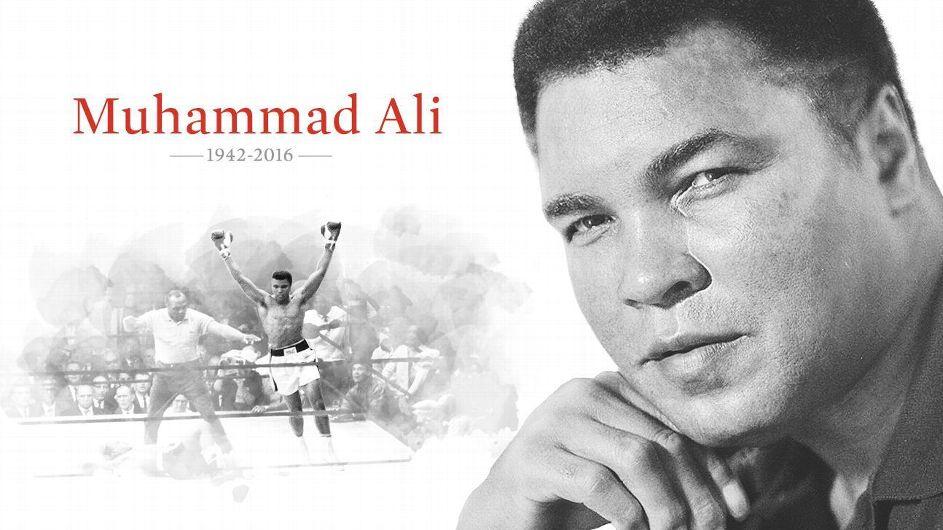 MUHAMMAD ALI - RIP 1942 - 2016