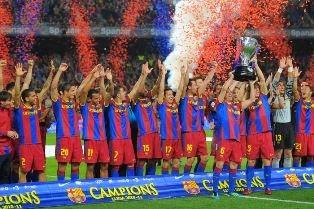 Barcelona Juara Liga Spanyol, Kalahkan Atletico Madrid 1-0