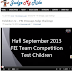 FEI Judge Comment on Hafl's first FEI test