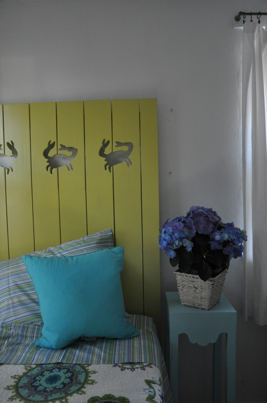 Headboards Made From Shutters