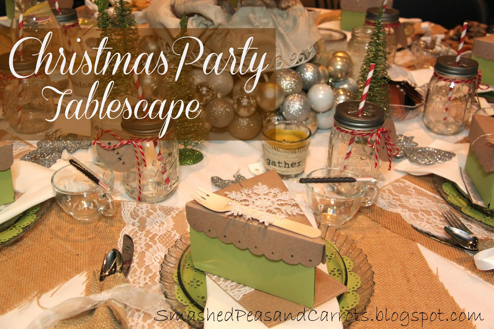 Christmas Tea Tablescapes Christmas Party Tablescape