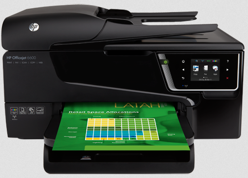 HP Officejet 6600 Printer