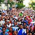 بالصور..تظاهرة معارضى النظام بالإسكندرية وسط تكبيرات العيد