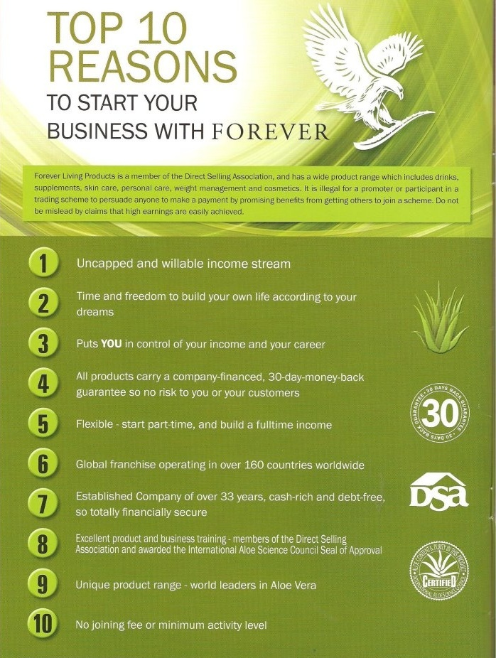 health n wellness forever top 10 reasons to start your