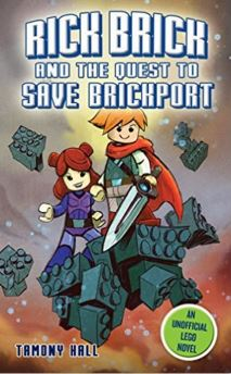 RICK BRICK AND THE QUEST TO SAVE BRICKPORT  cover