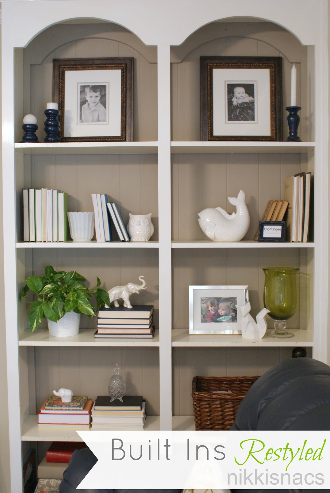Nikkis 39 nacs the built ins restyled Shelves design ideas