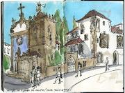 Mosteiro de Tibães. Vai ser no Mosteiro de Tibães, perto de Braga, .