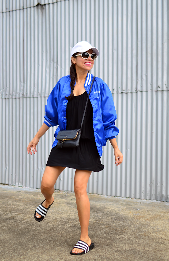 Wonderful Keep It Sporty And Cool By Wearing A Black Jacket Light Blue Shirt