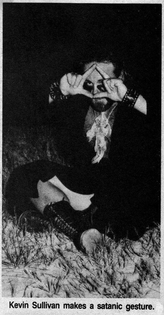 Kevin Sullivan (professional wrestler) Is A Rich Satanic Cloner & Illuminati Member