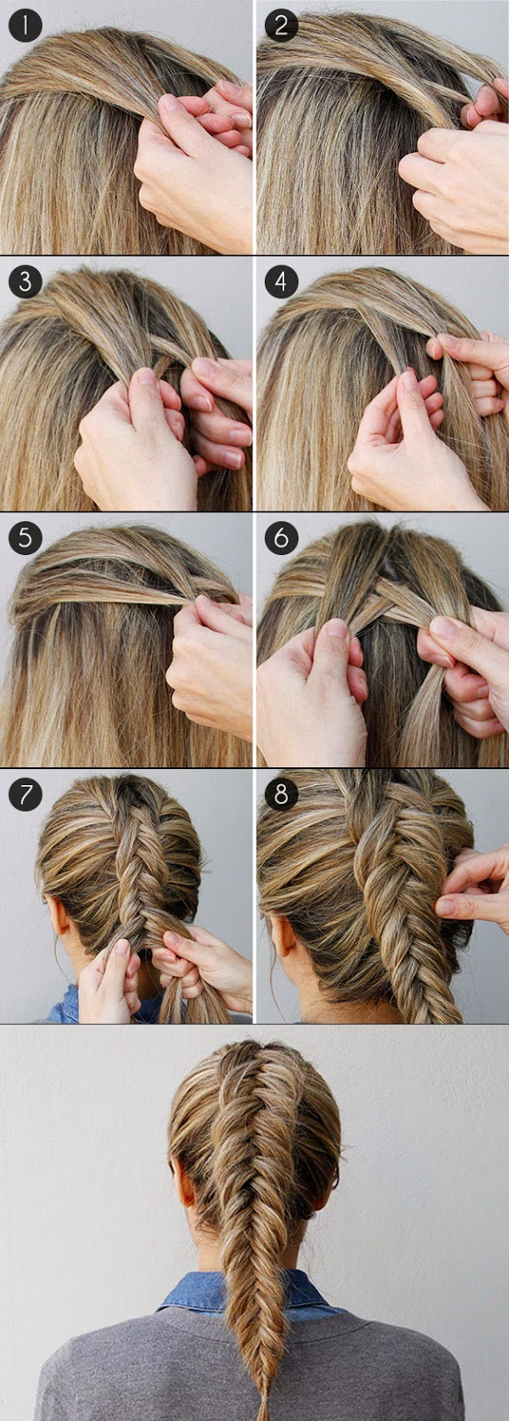How to Fishtail Braid Your Own Hair? - Hairstyle Ideas ~ Calgary ...