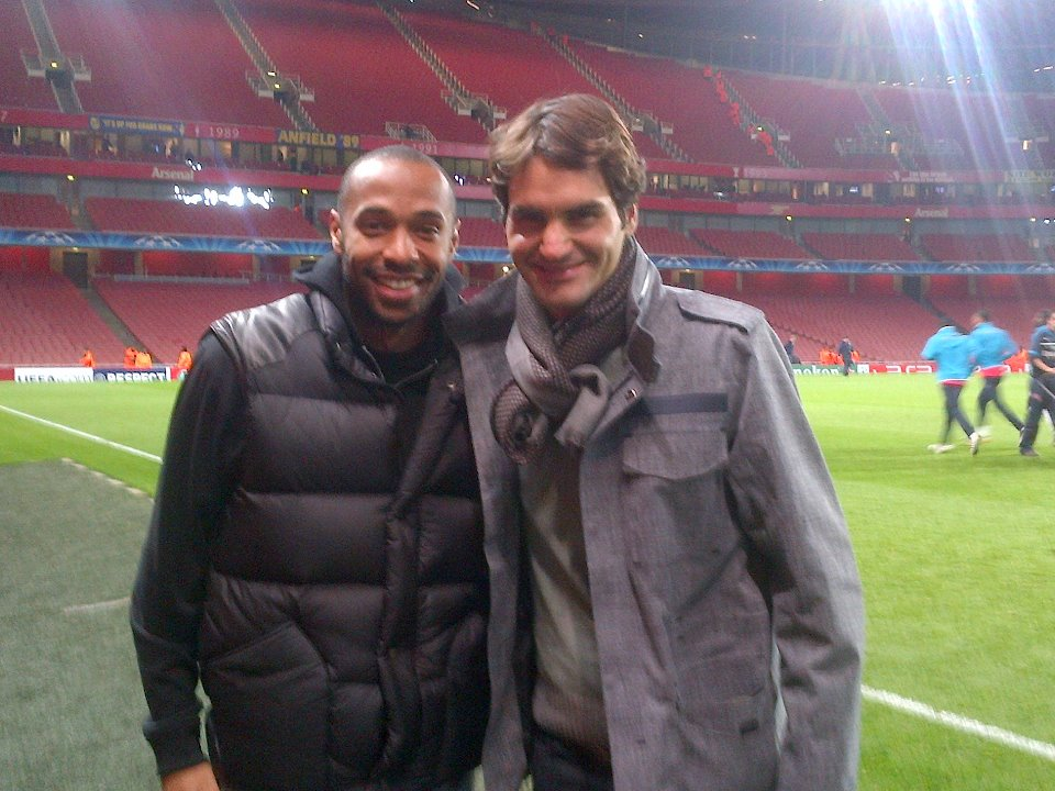 ¿Cuánto mide Thierry Henry? - Real height FEDERER+FACEBOOK