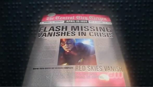 Prensa del futuro The Flash