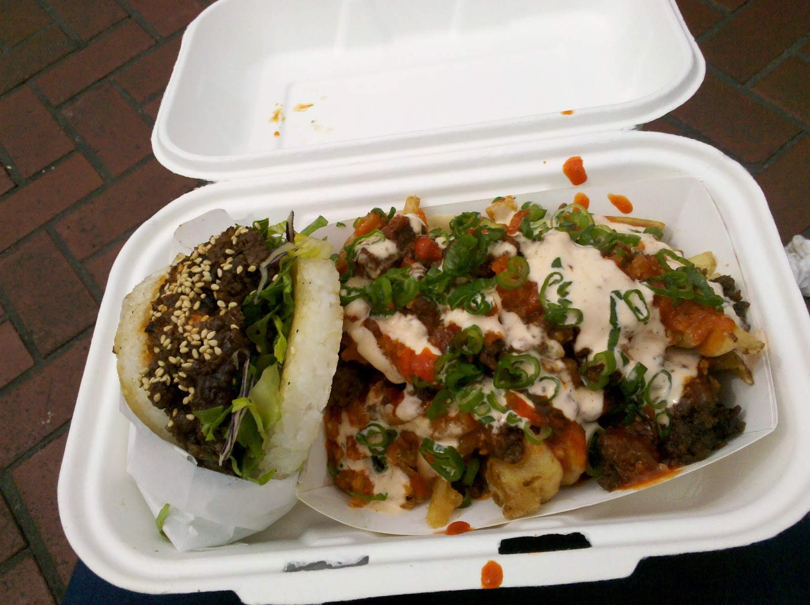 eats and other things: koja kitchen food truck (off the grid)