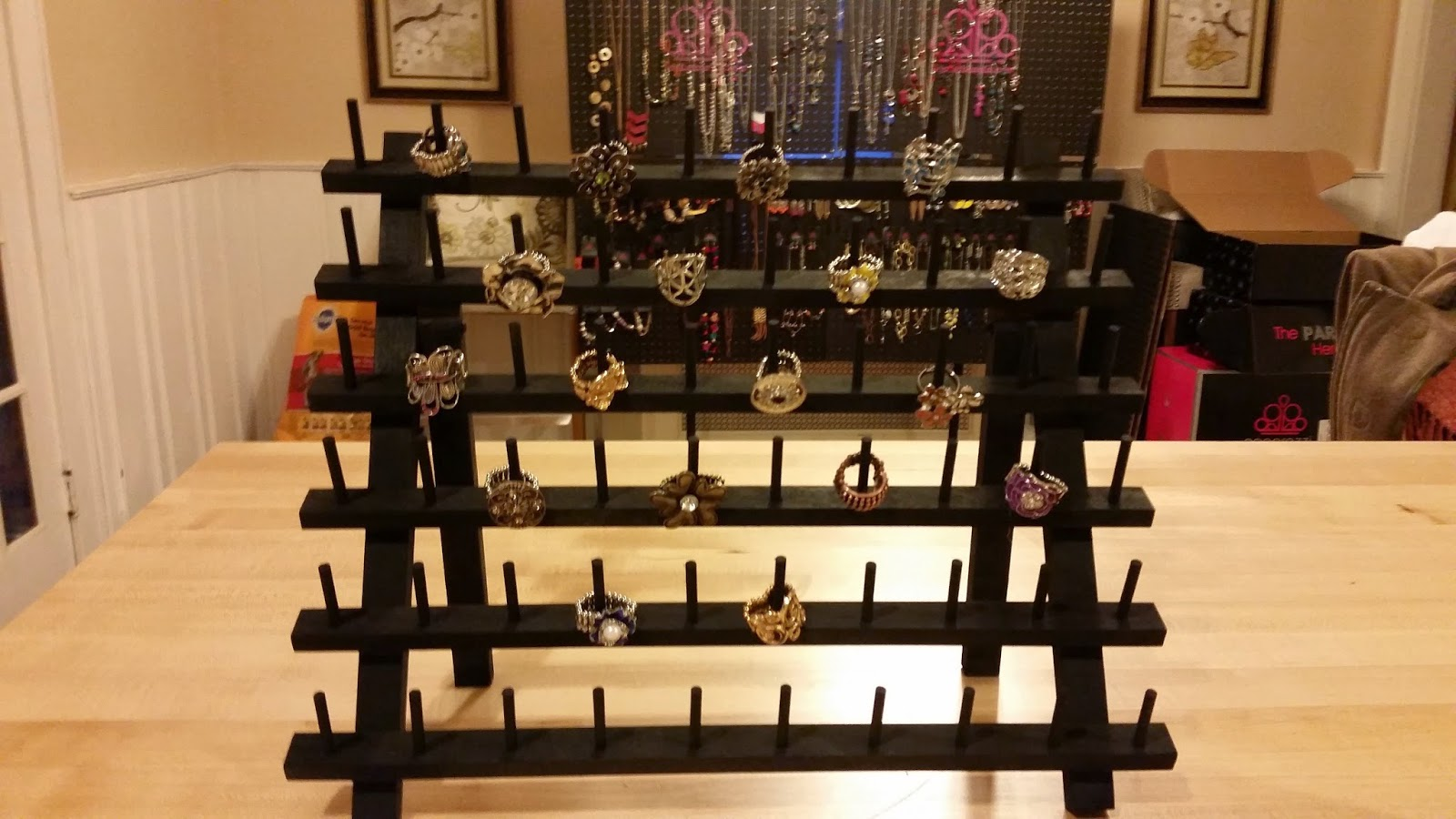 Myra Made This: Ring Display Ideas for Your Jewelry Shows