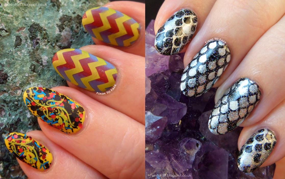 MoYou Nails plates and polish review