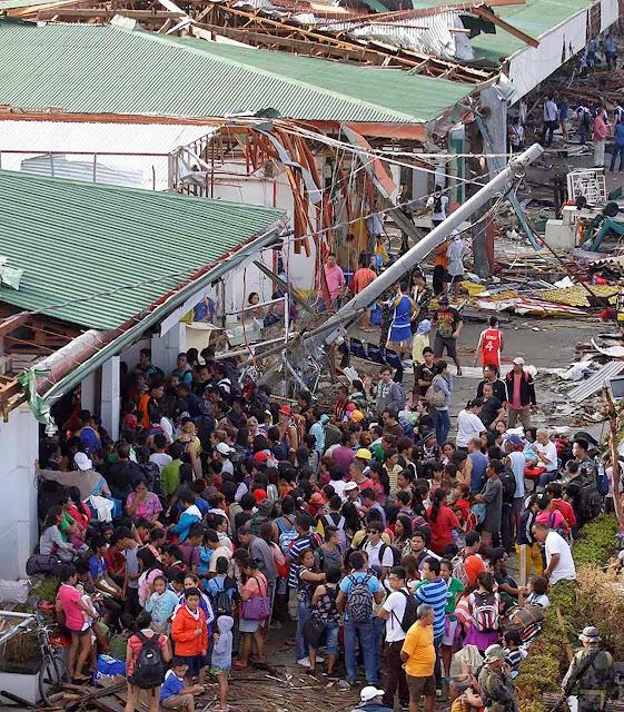 Alarmismo climático explora a tragédia das Filipinas