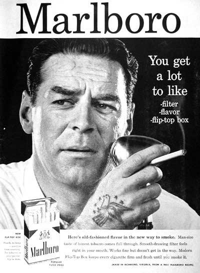 winston cigarette man