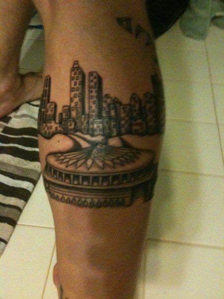 Images and places pictures and info atlanta falcons tattoo for Atlanta falcons tattoo