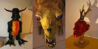Les créatures de l'imaginaire de Grégory et Caroline
