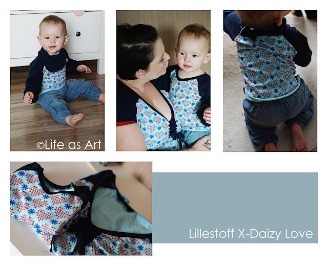 lillestoff Kinderstoffe X-Daizy Love aus GOTS Biostoff