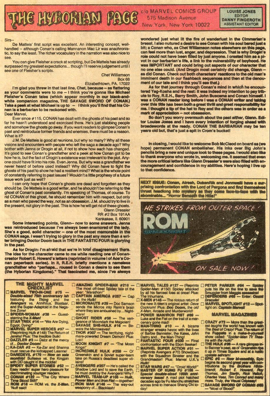Conan the Barbarian (1970) Issue #122 #134 - English 24
