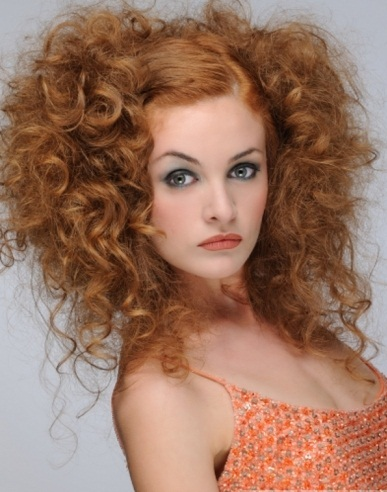 Flirty Big Curls Hairstyle 2014