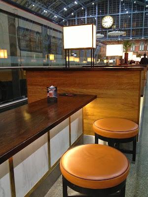 Searcy's champagne bar in St Pancras