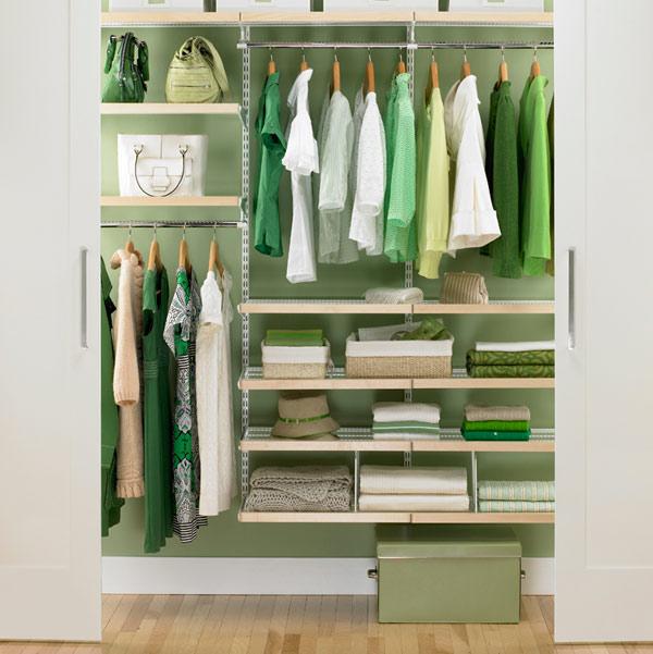 Small Walk-In Closet Organization Ideas