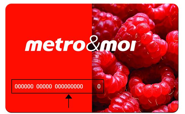 Metro et moi coupons